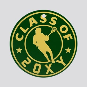 Class of 20?? Lacrosse Ornament (Round)