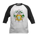 Roa Family Crest Kids Baseball Jersey