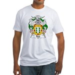 Roa Family Crest Fitted T-Shirt