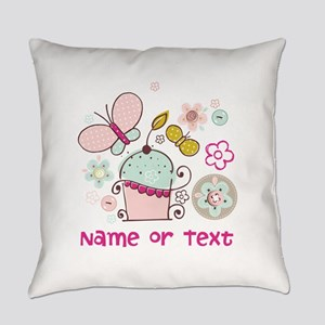 Custom add name or text Everyday Pillow