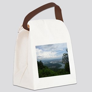 View from Lookout Mountain Canvas Lunch Bag