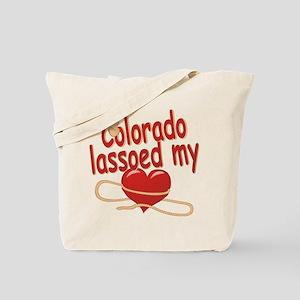 Colorado Lassoed My Heart Tote Bag