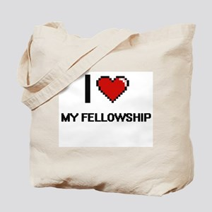 I Love My Fellowship Tote Bag