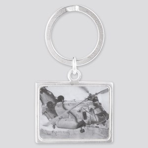 Chinook: Close Encounter Landscape Keychain