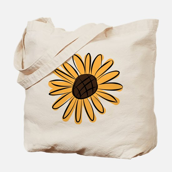 Unique Sunflower Tote Bag