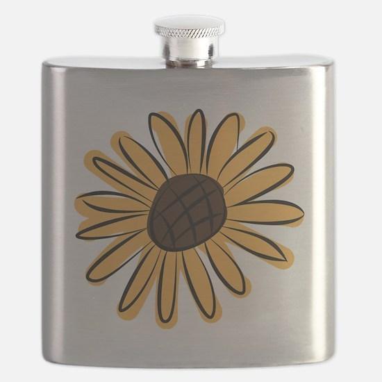 Cute Sunflowers Flask