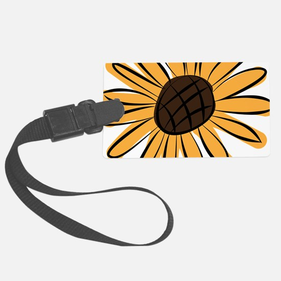 Cool Sunflower Luggage Tag
