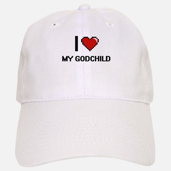 I Love My Godchild Baseball Baseball Cap