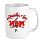 Marching Band Mom Large Mug