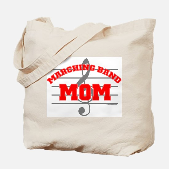 Marching Band Mom Tote Bag