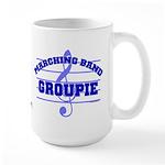 Marching Band Groupie Large Mug