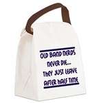 Old Band Nerds Canvas Lunch Bag