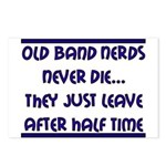 Old Band Nerds Postcards (Package of 8)
