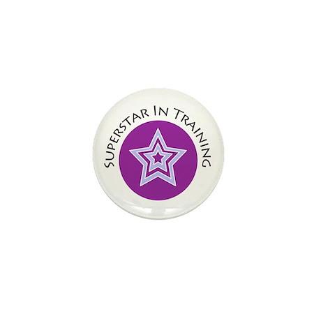 Superstar In Training Mini Button