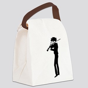 The Violinist Canvas Lunch Bag