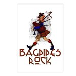 Bagpipes Rock Postcards (Package of 8)