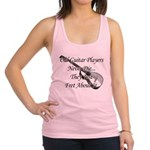 Guitar Players Never Die Racerback Tank Top