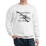 Guitar Players Never Die Sweatshirt