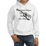 Guitar Players Never Die Hooded Sweatshirt