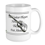 Guitar Players Never Die Large Mug