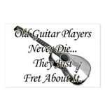 Guitar Players Never Die Postcards (Package of 8)