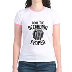 Rock the Accordion Jr. Ringer T-Shirt