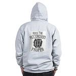 Rock the Accordion Zip Hoodie