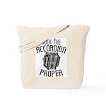 Rock the Accordion Tote Bag