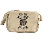 Rock the Accordion Messenger Bag