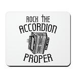 Rock the Accordion Mousepad