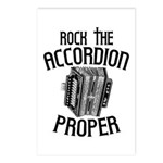 Rock the Accordion Postcards (Package of 8)