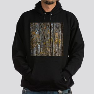 forest trees Camo Camouflage Hoodie (dark)