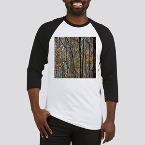 forest trees Camo Camouflage Baseball Jersey