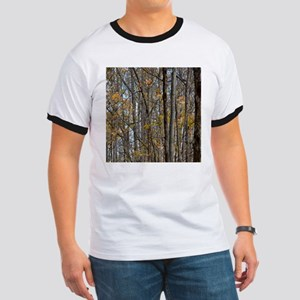 forest trees Camo Camouflage T-Shirt