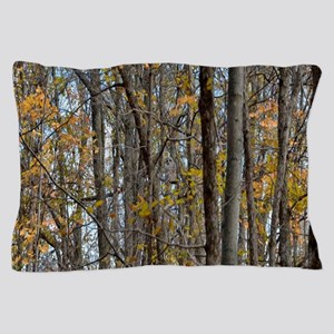 Autmn trees Camo Camouflage Pillow Case