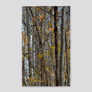 Autmn trees Camo Camouflage Area Rug