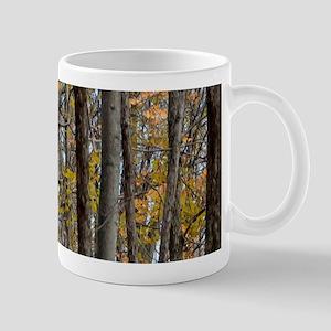 Autmn trees Camo Camouflage Mugs
