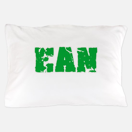 Ean Name Weathered Green Design Pillow Case