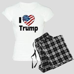 I Heart Trump Women's Light Pajamas