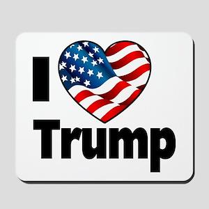 I Heart Trump Mousepad