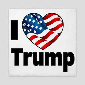 I Heart Trump Queen Duvet
