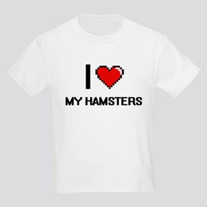 I Love My Hamsters T-Shirt