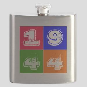 1944 Birthday Designs Flask
