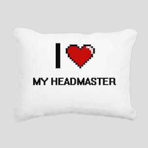 I Love My Headmaster Rectangular Canvas Pillow
