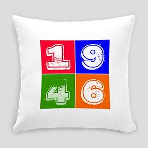 1946 Birthday Designs Everyday Pillow