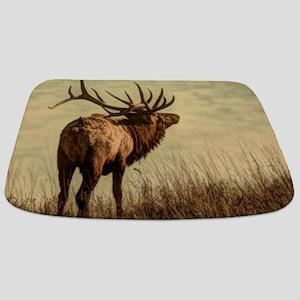 rustic western wild elk Bathmat