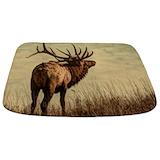 Bull elk Bathroom Décor