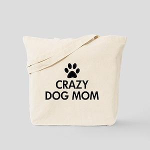 Crazy Dog Mom Tote Bag