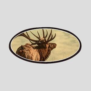 rustic western wild elk Patch