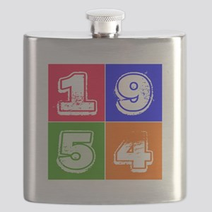 1954 Birthday Designs Flask